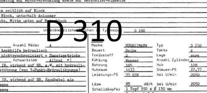 Typenbescheinigungen  D150  bis  D550