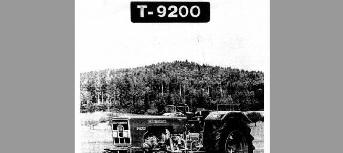 T-9200  BTA + techn. Daten