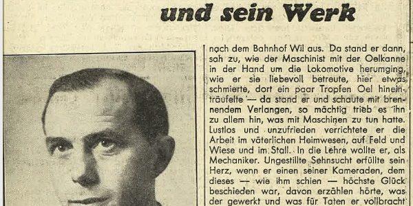 Zeitungsausschnitte von damals